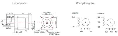 nema wiring diagrams wiring diagram \u2022 8 Wire Stepper Motor Wiring nema 17 stepper motor 6v 1a 1 8 degree 2 phase 4 wires ato com rh ato com l14 30 plug wiring diagram nema wiring diagram symbols