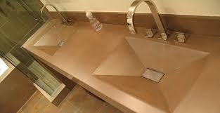 integral concrete bathroom sinks