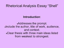 rhetorical analysis essay ldquo shell rdquo ppt video online rhetorical analysis essay shell