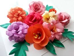 picture of diy paper flowers folding tricks