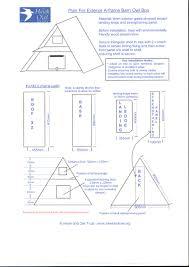 barn owl house plans throughout owlhouseplans