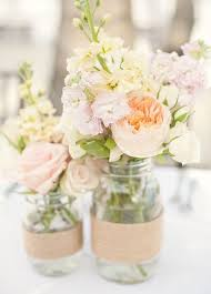 Mason Jar Decorations For A Wedding Mason Jars With Flowers For Weddings kantora 34