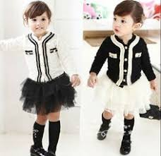 chanel kids. cutest outfit i have seen! in the background should be quote from coco chanel kids