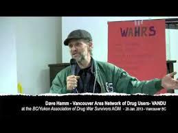 BC/Yukon Assc of Drug War Survivors - Dave Hamm - YouTube