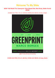The Non Designer S Presentation Book Pdf Download Pdf Download The Greenprint Plant Based Diet Best Body