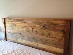 Wooden King Size Headboard Diy Headboards Pinterest Regarding Wood Plans 7