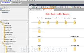 plc tutorial star delta starter for induction motors