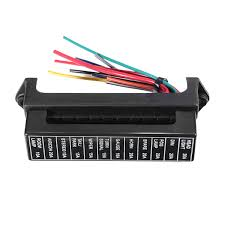 jz5704 jiazhan car 12 way fuse box 12 road with wire modification automotive fuse box replacement at Automotive Fuse Box