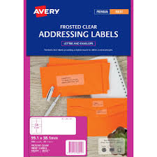 avery sheet labels avery inkjet mailing labels clear 25 sheets 14 per page
