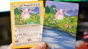 Printable Pokemon Cards How To Make A Full Art Pokemon Card People Are Painting Over
