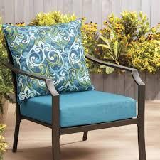 patio chair cushion garden treasures 2 piece deep seat outdoor decorative fabric