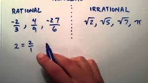 Rational And Irrational Numbers Examples Songs Videos