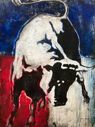 red white blue bull 2016 1