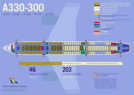 South African Airways Fleet Airbus A330 300 Details And