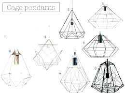 wire cage pendant lighting cage pendant shade black metal pendant lights rose gold wire light 6