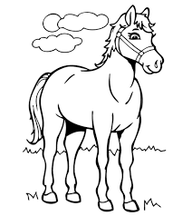 Well you're in luck, because here they come. Top 55 Free Printable Horse Coloring Pages Online