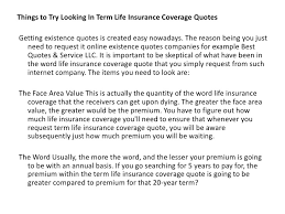 Term Life Insurance Quote Unique Cheaper Life Quotes And Term Life Insurance Quote