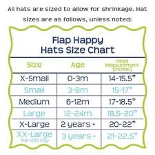 Hat Size Chart By Age