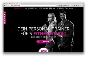 gym website design size zero gym webdesign design agency berlin digital branding