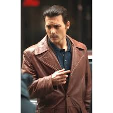 johnny depp donnie brasco leather jacket