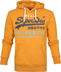 Superdry Authentic Tri Hoodie Yellow M2000069b A6d Order