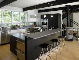 Cuisine Moderne Avec Ilot Central Design De Maison