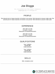Modern Ats Friendly Cv Template With Centred Information Using The