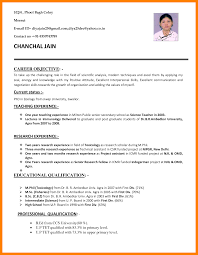 Teacher Job Resume Sample Best Of Curriculum Vitae For Teachercurriculum Vitae For Teacher Job Resume