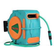 20m auto rewind garden water hose reel retractable automatic wall mount outdoor spray water cod