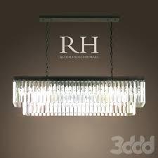 glass drop rectangular chandelier post review clarissa extra long assembly