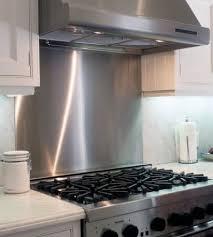 What Is Backsplash Magnificent Stainless Steel Backsplash R J Sheet Metal Distributors Inc
