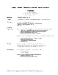 Resume Objective Statements Resumes Sample Objectives For First