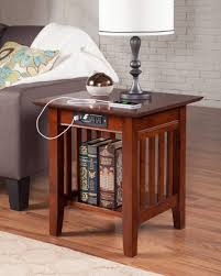 charging end table. Mission End Table With Charger Charging D