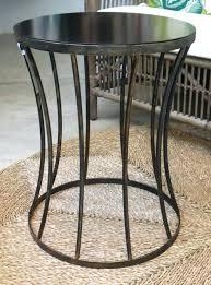 side table metal garden side table black aluminium side table aluminium side table australia hammered