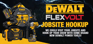 dewalt flexvolt. the q107 jobsite hook up powered by dewalt flexvolt dewalt flexvolt