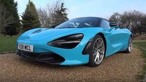 Light Blue Mclaren This Is The Lightest Mclaren 720s You Can Buy