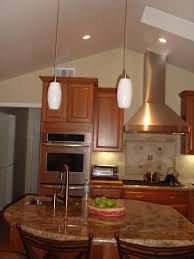 fetching kitchen island hanging pendant lights on vaulted ceiling with rapidjack light and granite top featuring