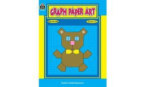 Teacher Created Resources Tcr0052 Graph Paper Art Gr 2 6 Groupon
