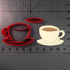 Cookie Coffee Cups Cup Cookie Cutter Set