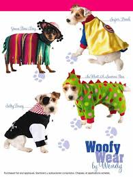 Dog Costume Patterns Interesting DOG Costume Sewing Pattern Woofy Wear Dogs Dinosaur Pirate Super