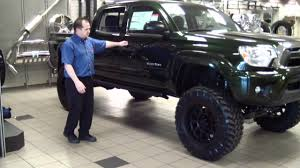 Toyota Tacoma Lifted Blacked Out. Great We Recently Had The Chance ...