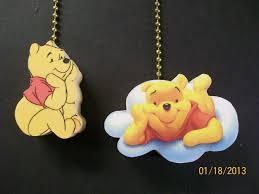 2 winnie the pooh bear ceiling fan pull pulls ebay