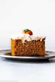 The Best Pumpkin Cake Ive Ever Had Sallys Baking Addiction