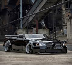 Leicht is either easy as an adverb or light. This Retro Mercedes Benz Sl500 Speedster Sends All The Right 90s Vibes
