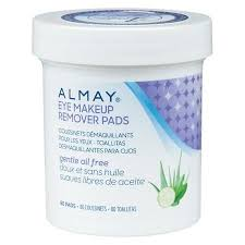 almay gentle eye makeup remover pads 80 ea