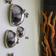 Decorative Metal Balls Stainless Steel Half Balls Wall Decoration Set 62
