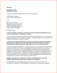 6 Examples Of Business Letters Full Block Style Budget Template