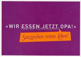 Lustige Sprüche Postkarte Satzzeichen Retten Leben Grusskartenshopde
