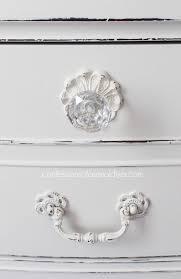 white furniture shabby chic. Pretty Glas Knobs Are Perfect For This Shabby Chic Dresser White Furniture E