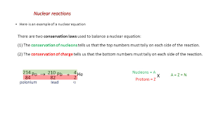 5 nuclear reactions